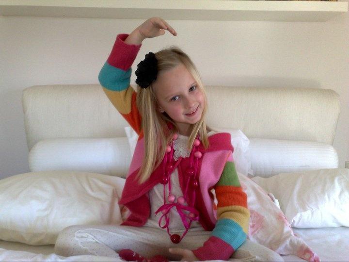 My darling Charline :) She colors my world beautiful <3
