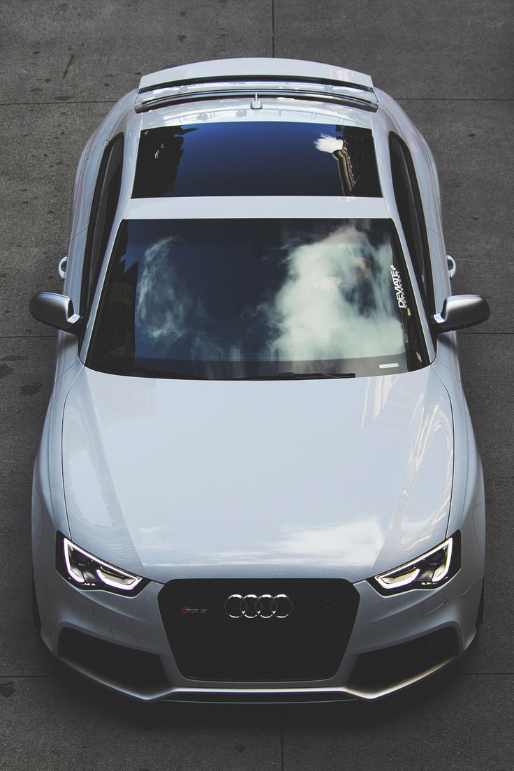 Audi RS5. Black or white. RS5 is just spectacular engineering.