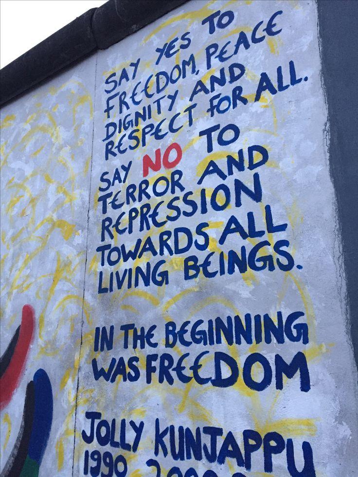 Berlijn muur!