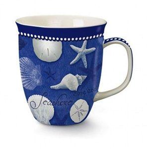 Harbor Mug | Blue Water Shells | LaBelle's General Store