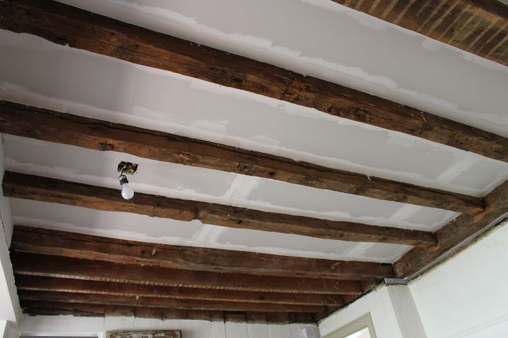 That S My Letter Quot C Quot Is For Ceiling Makeover Exposed