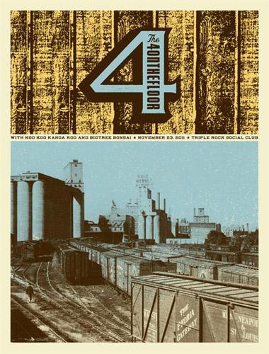 Holy Design. [The 4ONTHEFLOOR  w/Koo Koo Kanga Roo and Bigtree Bonsai, Aesthetic Apparatus.]: Cqg Poster, Concerts Poster, Products Poster, Bigtr Bonsai, 4Onthefloor W Koo, Prints Design, Music Poster, Aesthetics Apparatus, Graphicdesign Prints