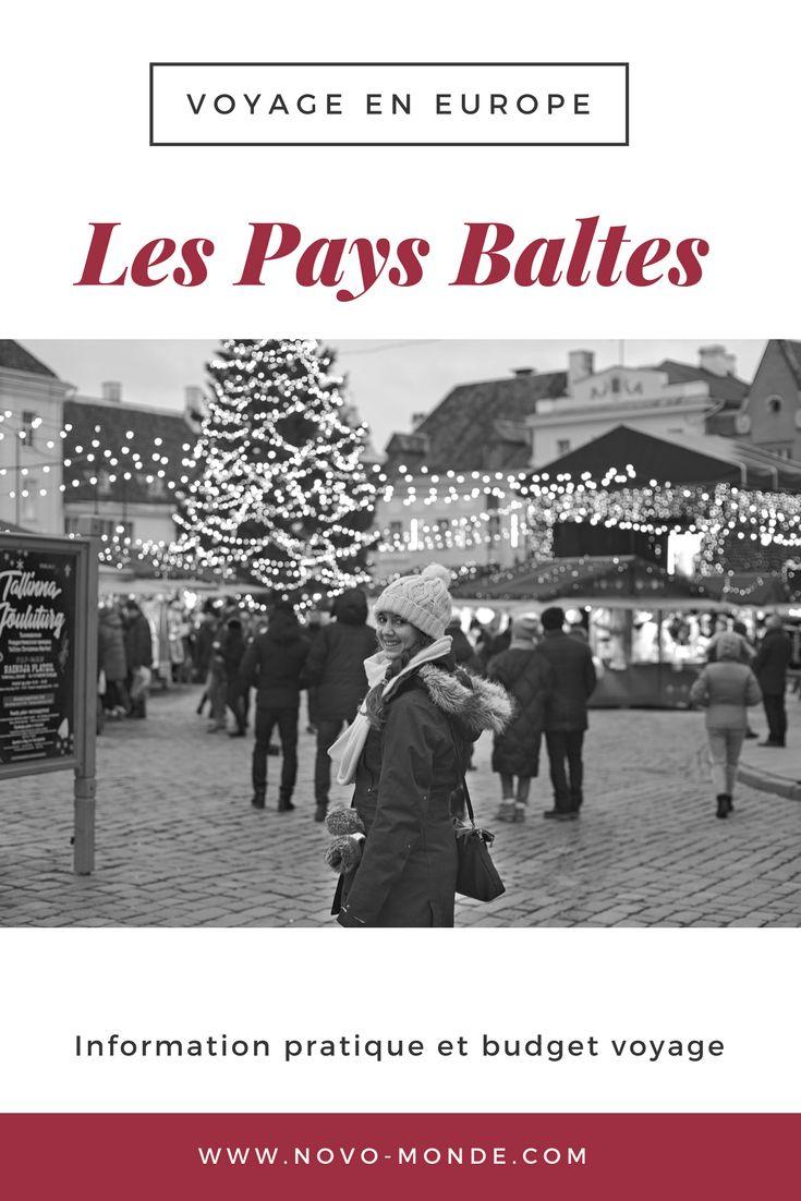 Les Pays Baltes: quel budget prévoir pour son voyage? Après un mois à sillonner la Lettonie, l'Estonie et la Lituanie on vous donne nos coups de coeur, conseils pratiques et notre budget de voyage détaillé #paysbaltes #europepascher #voyage