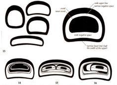 Image result for Northwest native art basic forms