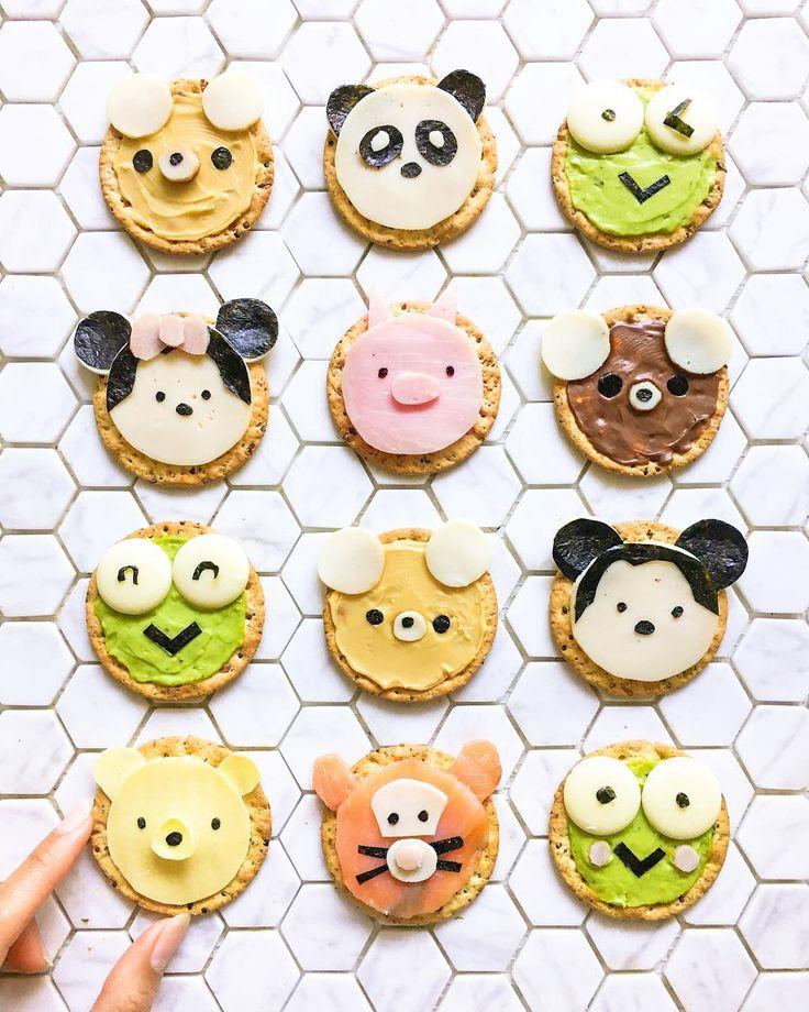 Animal crackers by @sweettoothforever (@hellomissmay)