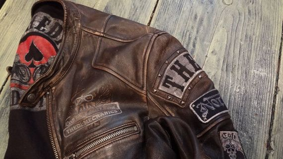 PATCHES CAFE RACER by thedileathers on Etsy