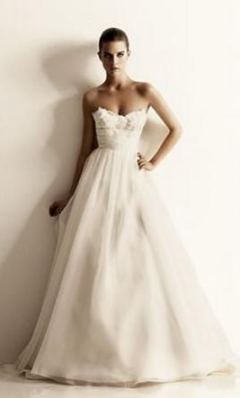 Priscilla of Boston: buy this dress for a fraction of the salon price on PreOwnedWeddingDresses.com #wedding #mybigday
