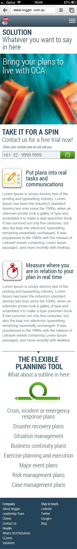 noggin.com.au - mobile optimised site