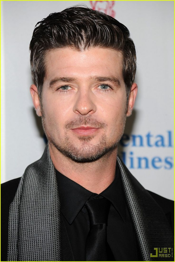 Robin Thicke - I love this man for his pure musical genuis SWAG ON!!!