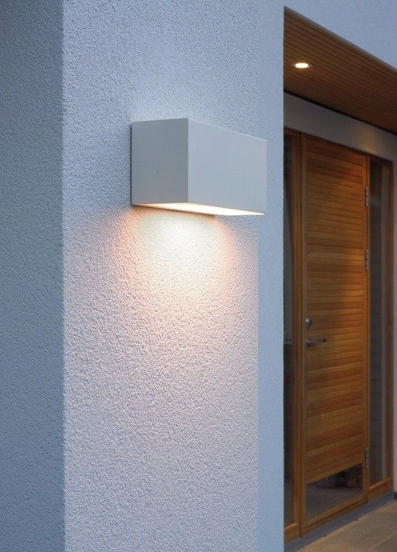 Asker Wall Up Down Light White By Norlys Peterreidlighting Outdoorwalllight Decoration Interieure Luminaire Deco