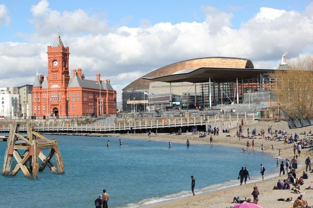How Cardiff Bay could look with a beach next to Mermaid Quay