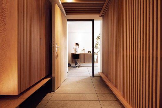 木設計的家 向北歐學簡單生活陽光搖擺的格柵房子 二 Building A