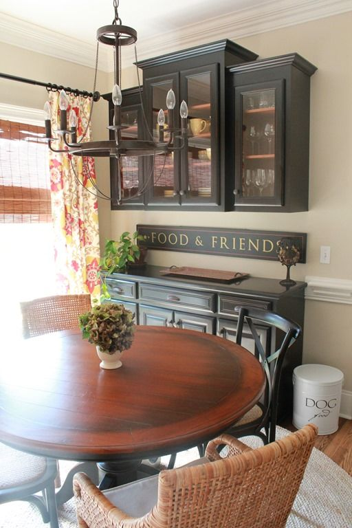 """Need to buy/make the """"Food and Friends"""" sign for dining room"""