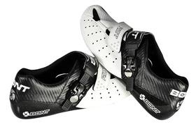 Bont will release a new lower-cost shoe this March called Riot. Although its less than half the price of the top-end Vaypor+, it still offers a bathtub-style carbon composite sole, the same fit (and huge range of sizes and lasts), and is supposedly just 70g heavier for a pair of size 42s.