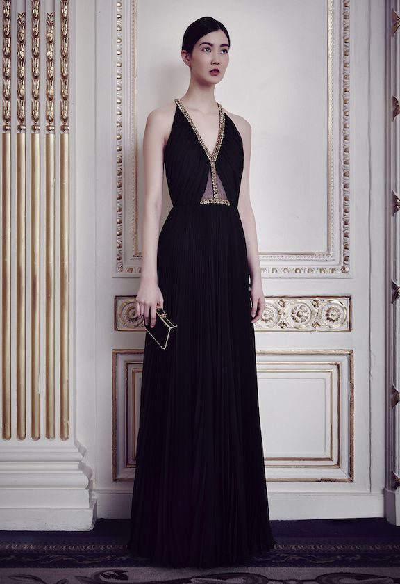 Jenny Packham. I just think it's pretty and would look great on you.