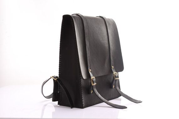 Agarapati Leather Backpack New by agarapatidesign on Etsy