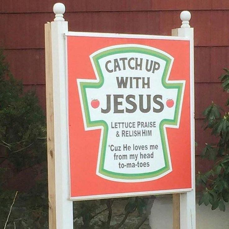 Do you catch up with Jesus?