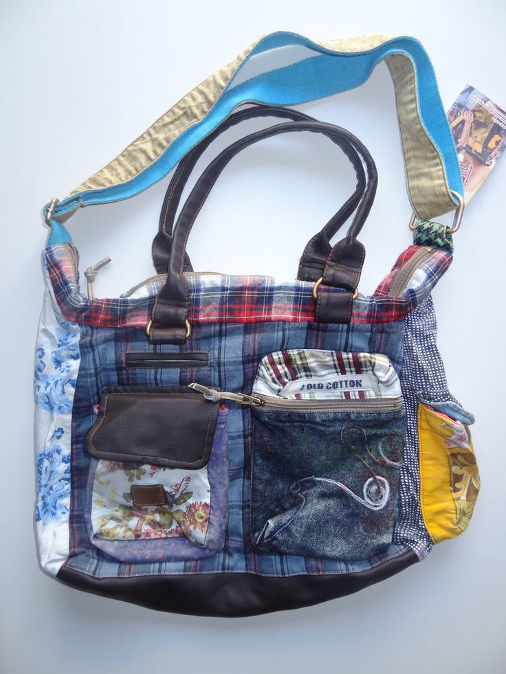 Old Cotton Cargo Bag - BAG#18 (59,- €)