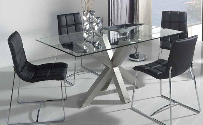 Mesas de vidrio para buffet buscar con google mesas for Mesas de comedor de vidrio