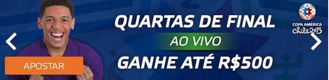 Apostas quartas de final Copa America 2015