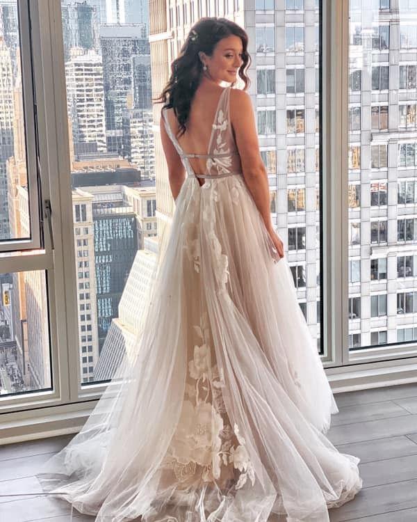 Bhldn Hearst Gown Wedding Dress In 2020 Bhldn Wedding Dress