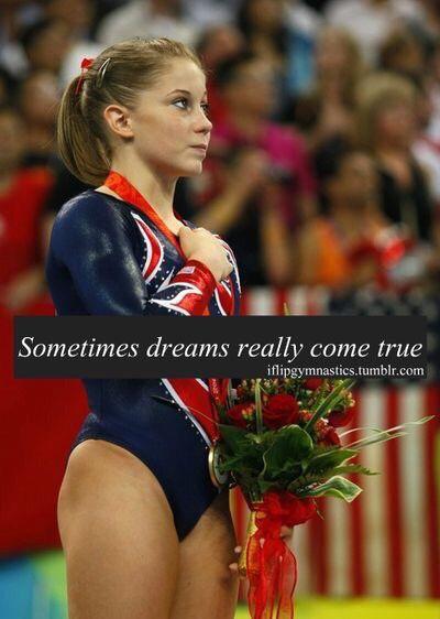 Shawn Johnson Olympic Medalist elite gymnastics