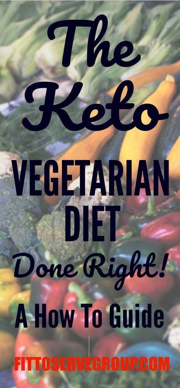A how-to-guide to doing a vegetarian keto diet successfully. It includes a list ...