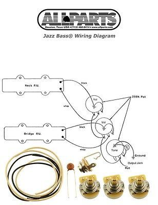 7 best p bass images on pinterest bass audio and bass guitars new jazz bass pots wire amp wiring kit asfbconference2016 Choice Image
