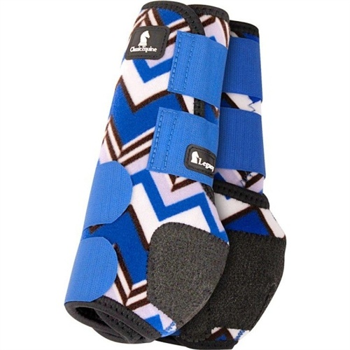Classic Equine Legacy System Front Designer Line Blue Chevron>> if they made this in red I'd so buy it😂