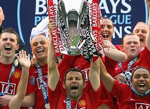 Man U! Premier League Champs!