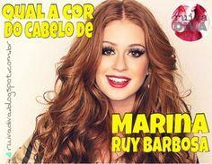 Ruiva Diva: A tinta do cabelo ruivo de Marina Ruy Barbosa - Isis da Novela Império