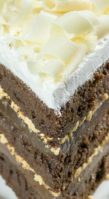 Christmas Chocolate Toffee Cake