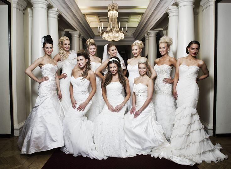 Miss Finland finalists 2013 in Vanajanlinna #misssuomi #vanajanlinna #wedding
