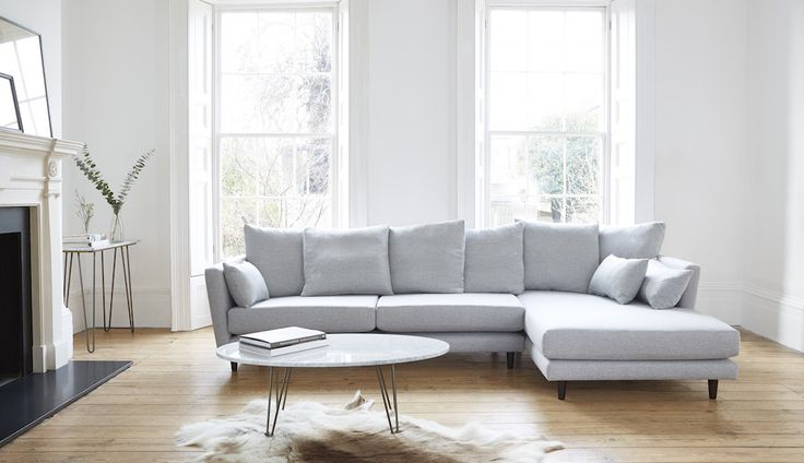 Amy Chaise Sofa | Corner Sofas |Darlings of Chelsea
