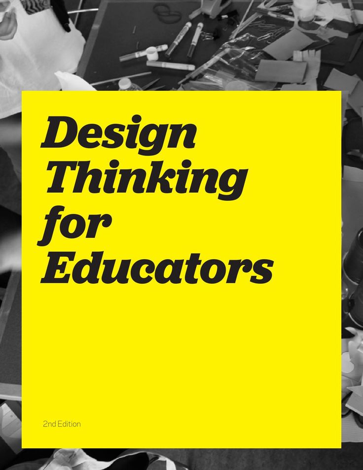 Insightful toolkit! - Design Thinking for Educators