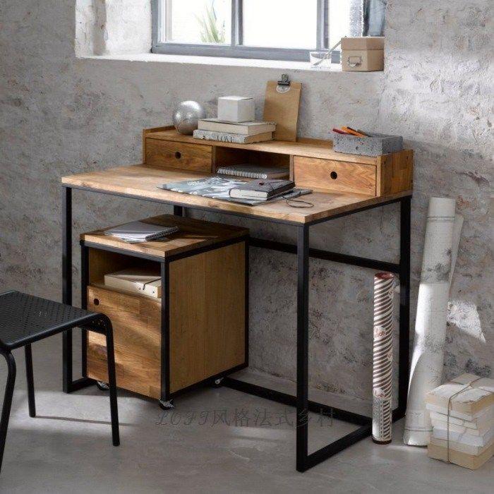 Письменные столы в стиле лофт