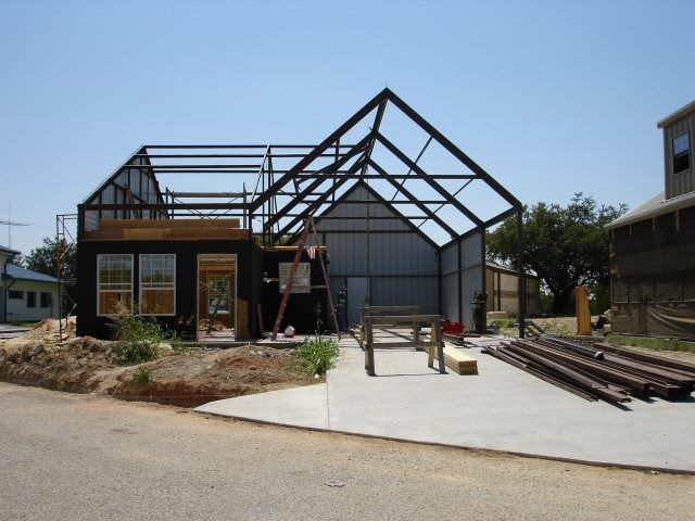 Amazing Light #Steel Frame #Houses Are Made From Steel Having High Tensile Strength  In Order