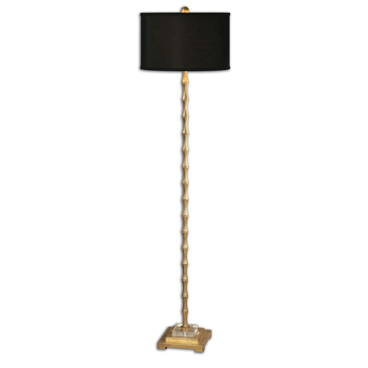 Quindici Metal Bamboo Floor Lamp In 2019 Black Floor