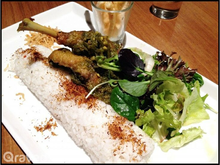 Bebek Goreng Cabe Hijau at Ideas Eatery & Bar