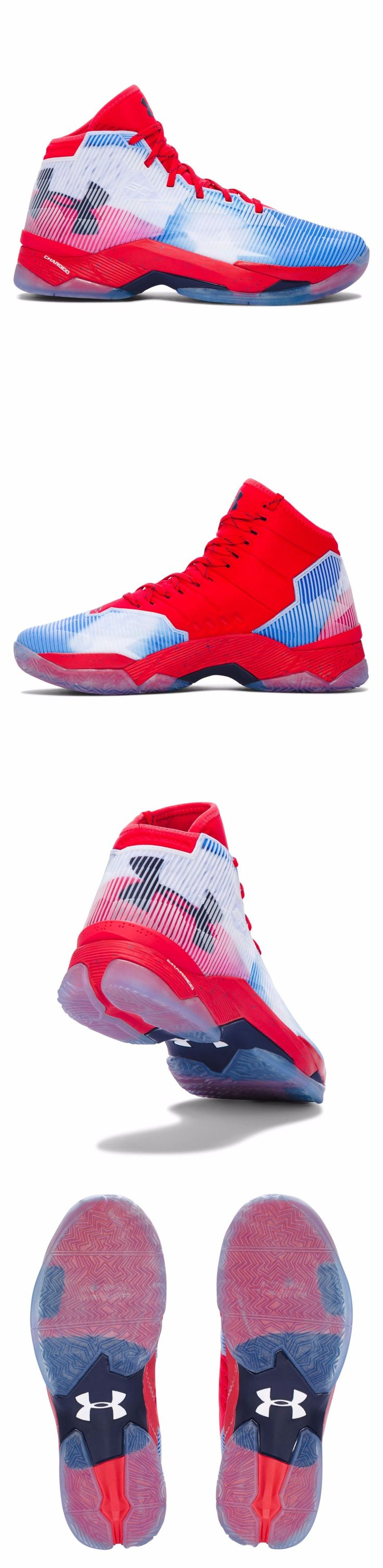 Men 158971: New Men S Under Armour Curry 2.5 Basketball Shoe - Red 1292528-601 -> BUY IT NOW ONLY: $99.99 on eBay!