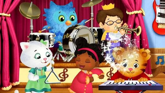 Watch the video «Daniel Tiger - When You Feel So Mad You Want to Roar Song» uploaded by Videos For All on Dailymotion.