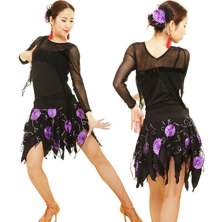 Latin dance clothes adult Latin dance set square dance Latin dance performance wear