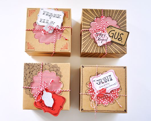 Celebrating with Squares: Sweet Personalized Gifts / sfgirlbybay