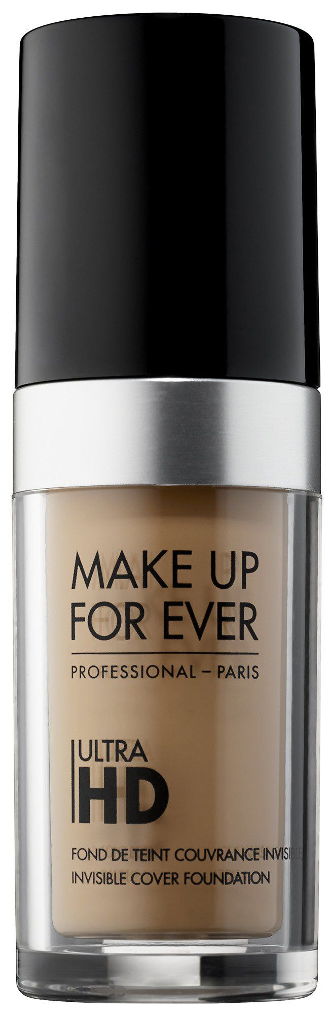 Pin for Later: Every Single Beauty Product You Need to Look Like Kylie Jenner Make Up For Ever Ultra HD Invisible Cover Foundation Make Up For Ever Ultra HD Invisible Cover Foundation ($43)