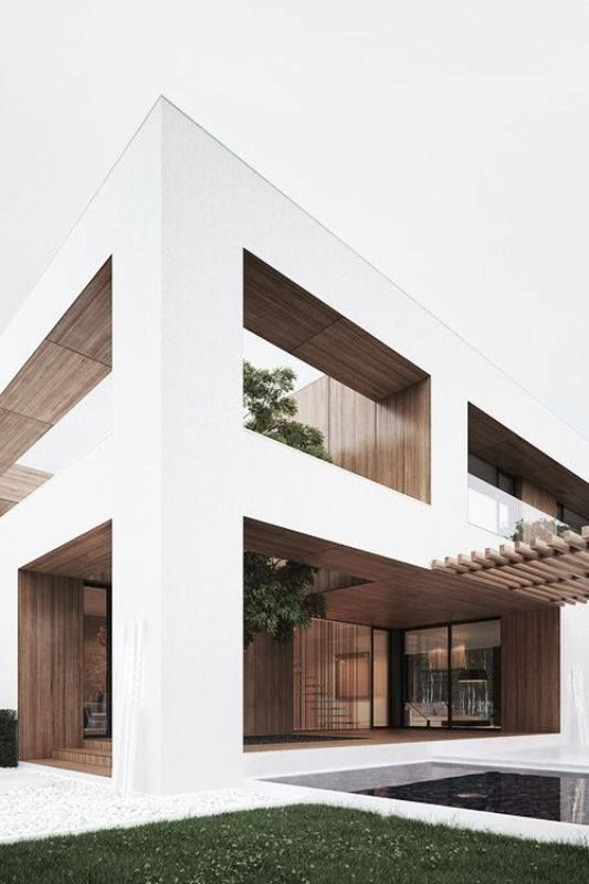 7 best Wood facade images on Pinterest | Wood facade, Contemporary ...