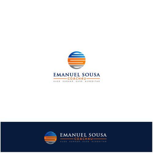 """Emanuel Sousa Coach4U 鈥?20""""Crie um design de um logotipo moderno para Emanuel Sousa Coach"""