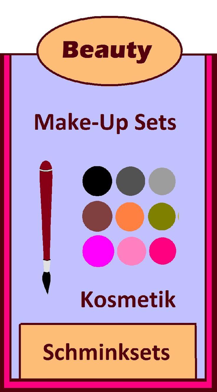 Beaute Makeup Schminke Schminksets Make-Up Sets Schminkkoffer Schminkpalette Mascara Lipenstift Nagellack für die Frau Frauen Damen  Mode Trendfarben für die Augen Mund Gesicht. 'beauty #makeup #hacks #deutsch #Auge #gesicht #lippen #Produkte 'kosmetik #Geschenk