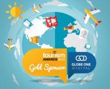 Tourism Awards 2015 Globeone Digital - Gold Sponsor
