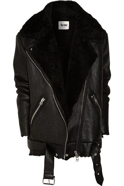 Best 25  Black shearling coat ideas on Pinterest | Black shearling ...