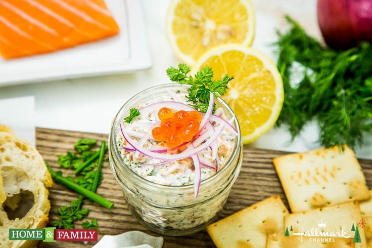 A seafood dish that's easy to make and tastes delicious! Chef David Codney's Potted House Smoked Salmon! Don't forget to watch Home & Family weekdays at 10a/9c on Hallmark Channel!